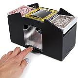 Jobar Easy Automatic 2 Deck Playing Card Shuffler