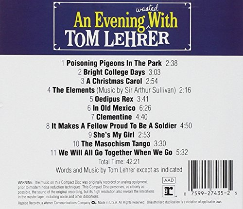 An Evening Wasted With Tom Lehrer by Reprise (Image #1)