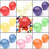 100pcs 10'' Colorful Air Latex