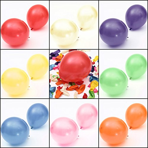 Rebel Bow Tie (100pcs 10'' Colorful Air Latex Balloon Wedding Birthday Party (Mixed Color))