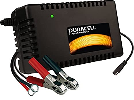 Duracell Power Drbc6a Black Battery Maintainer
