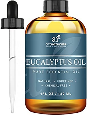 Art Naturals Eucalyptus Essential Oil 4.0 oz 3pc Set - Includes Our Aromatherapy Signature Zen & Chi Blends 10ml Each Therapeutic Grade 100% Pure & Natural Oils