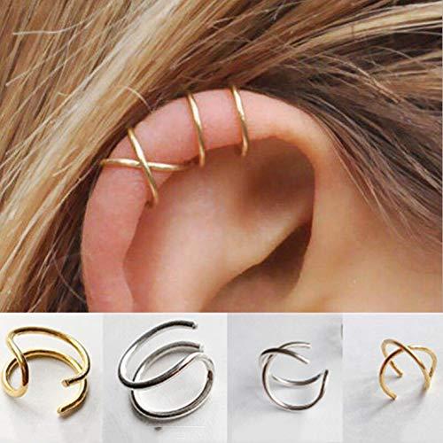 Double Cross Earrings - 6