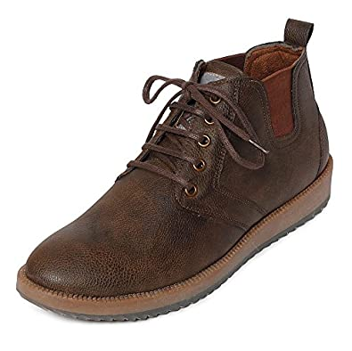 Bacca Bucci Men Brown Artificial Leather Boots 10 UK byHrSHpRr