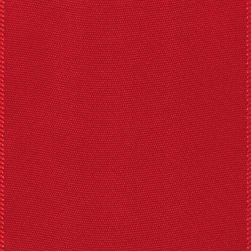 Offray Berwick 2.25'' Single Face Satin Ribbon, Red, 10 Yds by Offray (Image #1)