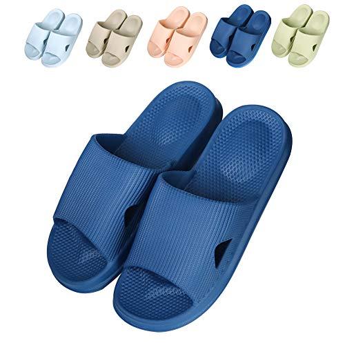 8b40d8ed68ca Fogroup Japanese Style Home Shoes Bathroom Non-Slip Slippers Men Women  Summer Sandals Comfortable Couple Slippers