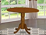"""DLT-SBR-TP Round Table with 29"""" Drop Leaves in"""