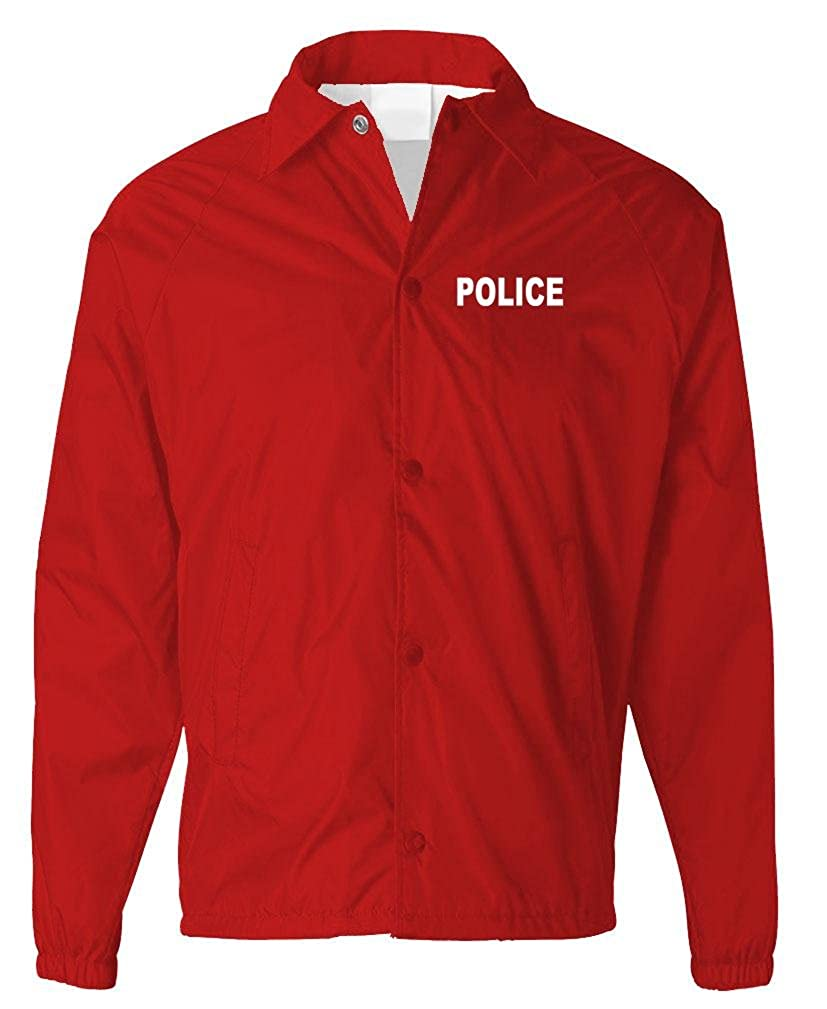 The Goozler Police - Sheriff Officer Patrol Windbreaker - Mens Coaches Jacket