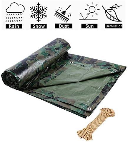 FQJYNLY 防水シート防雨布防塵フロアキャンプフィッシングガーデニング、7サイズ (Color : Green, Size : 2X3M)