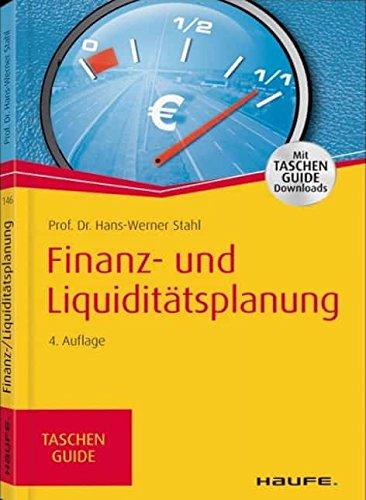 Finanz- und Liquiditätsplanung (Haufe TaschenGuide) Taschenbuch – 12. Januar 2018 Hans-Werner Stahl Haufe Lexware 3648111639 Betriebswirtschaft