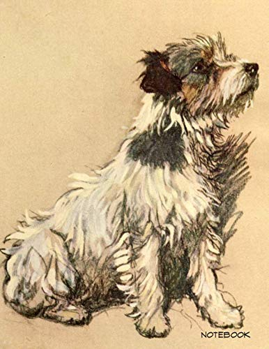 Parson Jack Russell Terrier - Notebook: Cecil Aldin Parson Jack Russell Terrier Notebook Large College Ruled 110 Pages