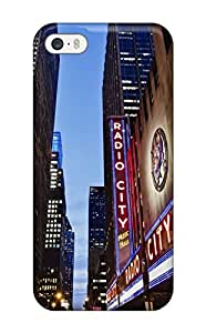 linJUN FENGPremium Protection New York City Case Cover For Iphone 5/5s- Retail Packaging