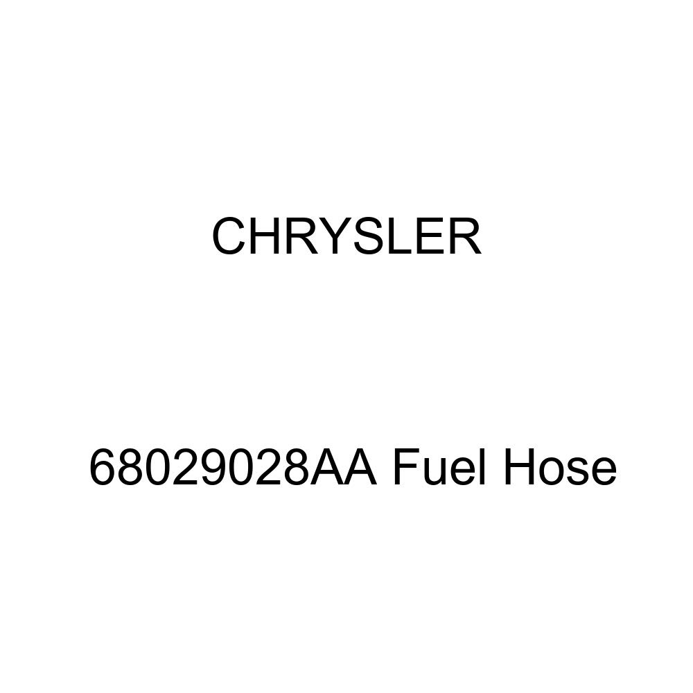 Genuine Chrysler 68029028AA Fuel Hose