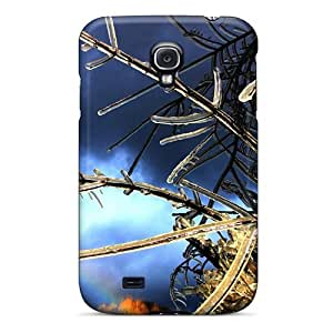 For Galaxy S4 Protector Case Nature Plants Branches Phone Cover by lolosakes