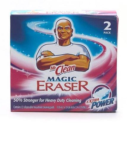 Mr。Clean Magic Eraser Extra Power Heavy Dutyクリーニング – 2各 – パックof 2   B0772P9S2F