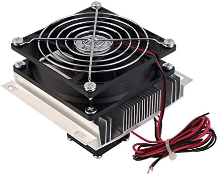 60W Thermoelectric Peltier Refrigeration Cooling System Cooler Fan Heatsink DIY