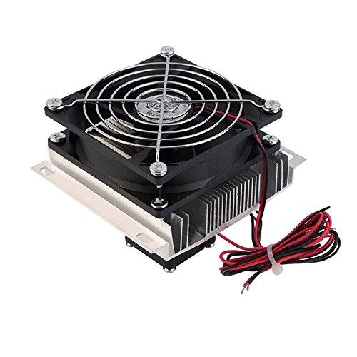 Northbear Thermoelectric Peltier Refrigeration Cooling Cooler Fan System Heatsink Kit Cooler (1 Fan)