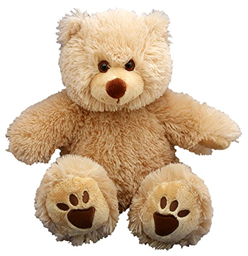 Stuffems Toy Shop Record Your Own Plush 16 inch Brown Bear - Ready to Love in A Few Easy Steps