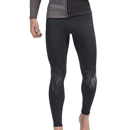 e11b88b413 EVEDESIGN Men s 3mm Neoprene Wetsuits Pants Compression Leggings Thick  Swimming Tights Super Stretch Rash Guard Scuba