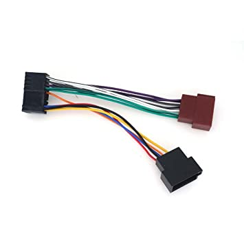 ZWNAV Car Stereo wire connector ISO standard HARNESS Radio ... on