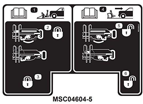 Boss Part # MSC04604 - Smarthitch2 Drivers Side Pin Housing Decal Sticker ()