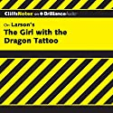 The Girl with the Dragon Tattoo: CliffsNotes Audiobook by Amie Whittemore Narrated by Kate Rudd