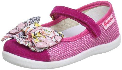 Naturino NATURINO 8046 A 4000407019102 - Bailarinas de cuero para niña Rosa (Pink (FUXIA 9102))