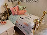 Best Comforter Set With Dolls - 18 inch minky doll comforter set hand made Review