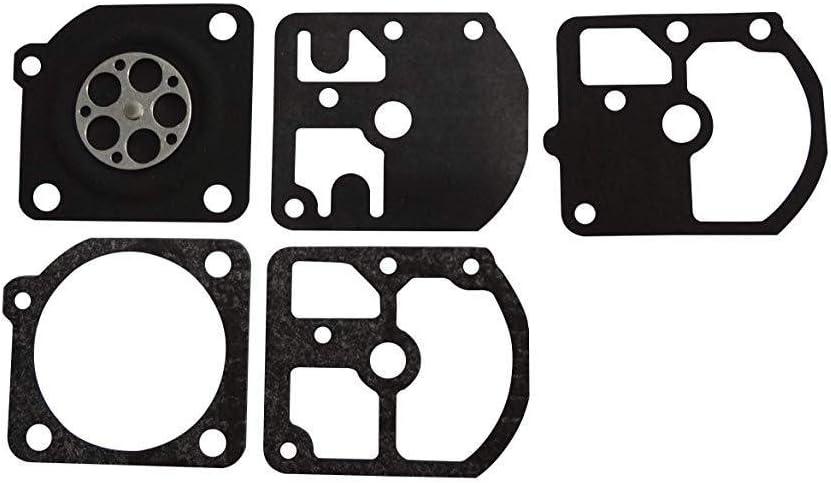Carburateur Joint et membrane kit remplace Zama Gnd-6 pour Zama C1s-k3d C1s-z1 Echo Cs 330 Evl Kamatsu Zenoah G300
