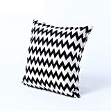 Corrugated cotton pillowcases mixed colors sofa pillows-A 45x45cm(18x18inch)VersionB