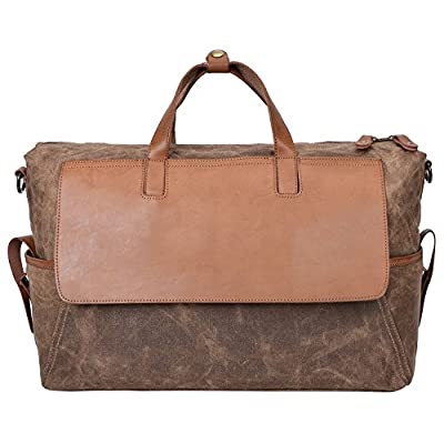 814d365a1372 ALTOSY Water Resistant Canvas Travel Duffle Bag Weekend Overnight Tote  30%OFF