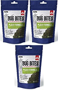 Fluval Bug Bites Pleco Formula for Medium to Large Fish 13.8oz (3 x 4.6oz)
