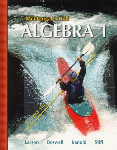 McDougal Littell Algebra 1 (McDougal Littell Mathematics)