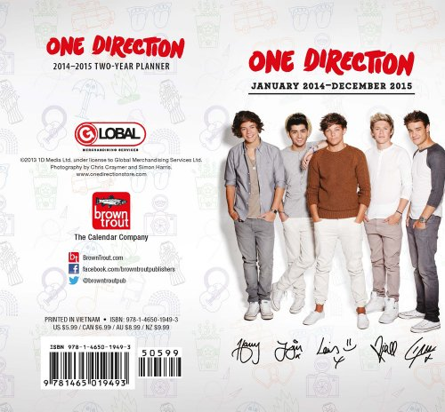 one direction 2015 planner - 3