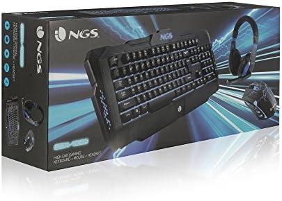 Pack de juegos NGS GBX-1000, teclado + ratón + auriculares: Amazon.es: Electrónica