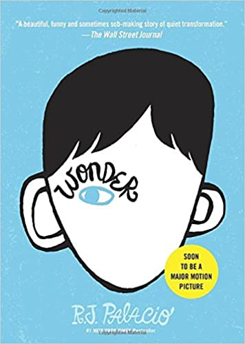 wonder book about a boy with extraordinary face