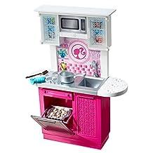 Barbie Doll and Kitchen Furniture Set