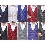 51cHAmVfDuL. SS150  - SORELLA'Z Men's Waistcoat (Multicolour, Free Size)