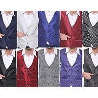 SORELLA'Z Men's Waistcoat (Multicolour, Free Size)