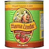Mama Linda Chopped Tomatoes in Juice, 2.84L Can