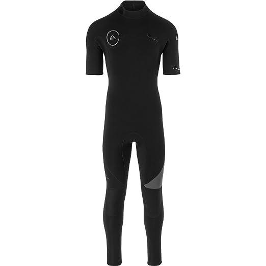 4074eee0f Quiksilver 2mm Syncro Series Back Zip FLT Men s Short-Sleeve Wetsuits -  Black Black
