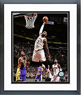 9182b718e96 LeBron James Cleveland Cavaliers NBA Action Photo (Size: 12.5