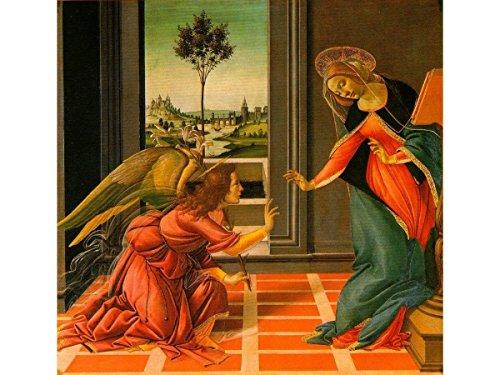 The Cestello Annunciation by Sandro - Botticelli Annunciation