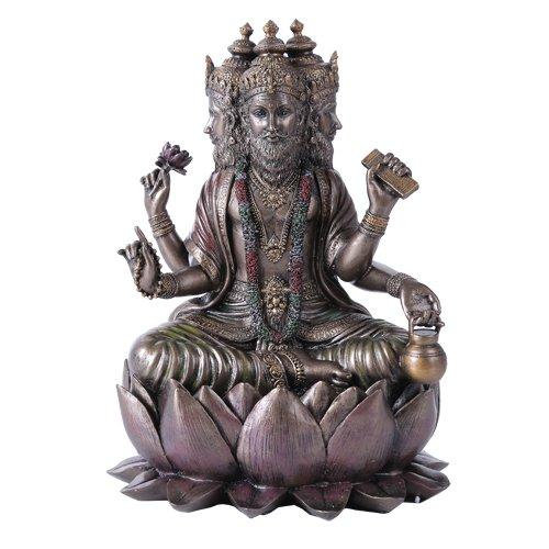 hindu-brahma-god-four-faced-vedas-statue