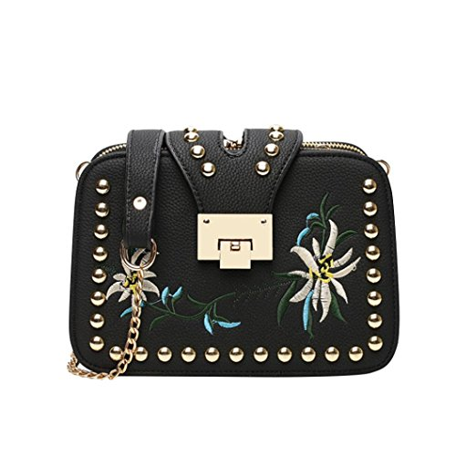 Nouveau sac épaule à en mode sac soirée diagonale Cuir Sacs de zycShang portés à bandoulière Main Femmes femme sac Sac Noir 0TIYqI