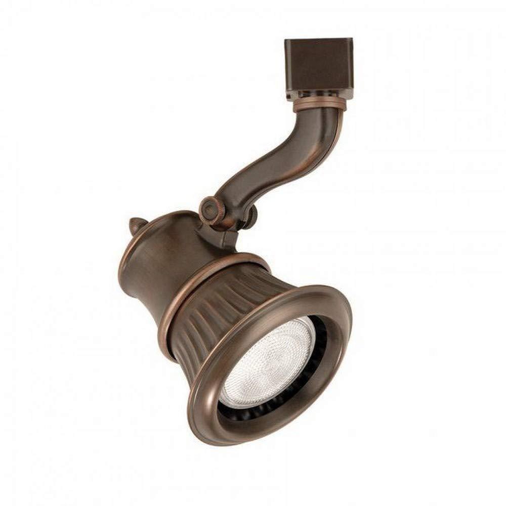 WAC Lighting JTK-793-AB Rialto Line Voltage Track Fixture, Antique Bronze
