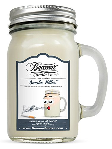 Beamer CAN Smoke Killer Smoke Killer Scent - Candle Co Glass