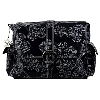 Kalencom Matte Coated Buckle Bag, Stitches Navy