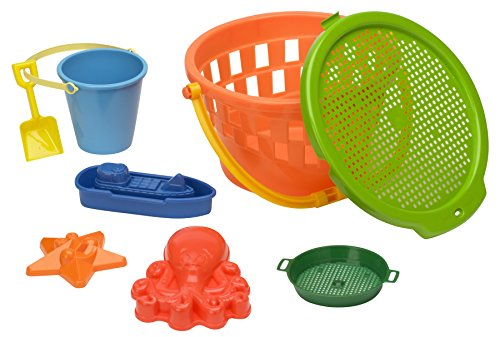 American Plastic Toy 8 Piece Jumbo Value Bucket