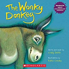 "Kids will love this cumulative and hysterical read-aloud! ""I was walking down the road and I saw . . .A donkey,Hee Haw!And he only had three legs!He was a wonky donkey."" Children will be in fits of laughter with this perfect read-aloud tale o..."